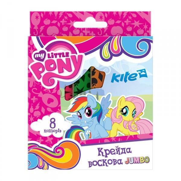 Карандаши восковые Kite Jumbo My Little Pony LP17-076, 8 шт.