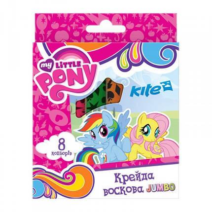 Карандаши восковые Kite Jumbo My Little Pony LP17-076, 8 шт., фото 2