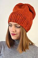 Модная шапочка для девушки