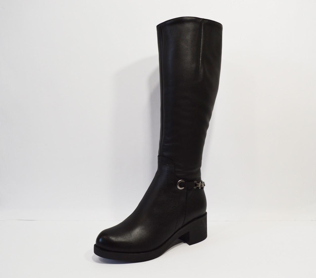 Зимние кожаные сапоги Alpino 2040
