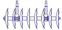 БДВ.20.000-02 Секция бороны к бороне дисковой тяжелой БДВ