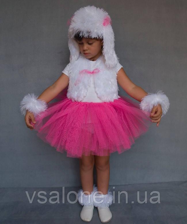 Дитячий карнавальний костюм для дівчинки Собачка (дівчинка)