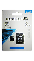 TeamGroup Micro SD 8GB Class 4+ adapter