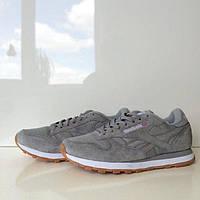 Кроссовки Reebok Classic Leather Suede Grey
