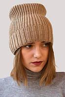 Стильная шапка-чулок