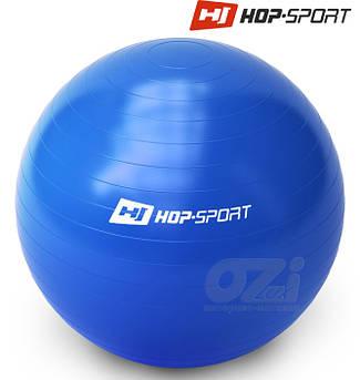 Гимнастический мяч + насос Hop-Sport 65cm green