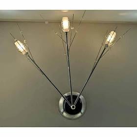 Бра хромовое на три лампы:галоген VL-12292/3 CR
