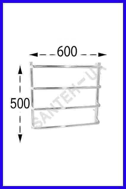 Полотенцесушитель Ravans Стінка 500х600