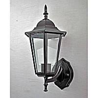 Светильник уличный настенный черный на одну лампу IP44 SV-12267/1W B