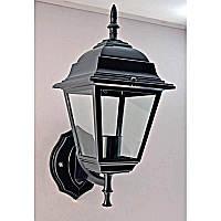 Светильник уличный настенный черный на одну лампу IP44 SV-12268/1W B