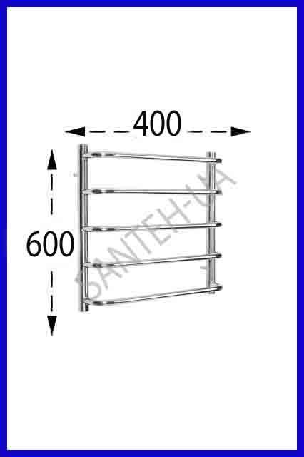 Полотенцесушитель Ravans Стінка 600х400