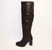 Женские кожаные сапоги Kluchini, фото 2