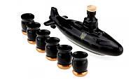 Коньячный набор Подводная лодка , 7 предметов