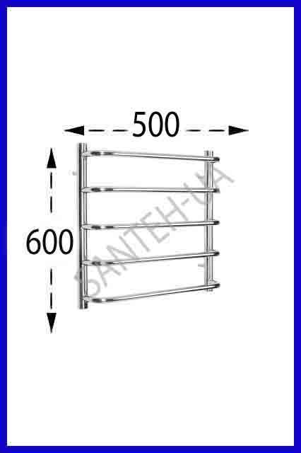 Полотенцесушитель Ravans Стінка 600х500