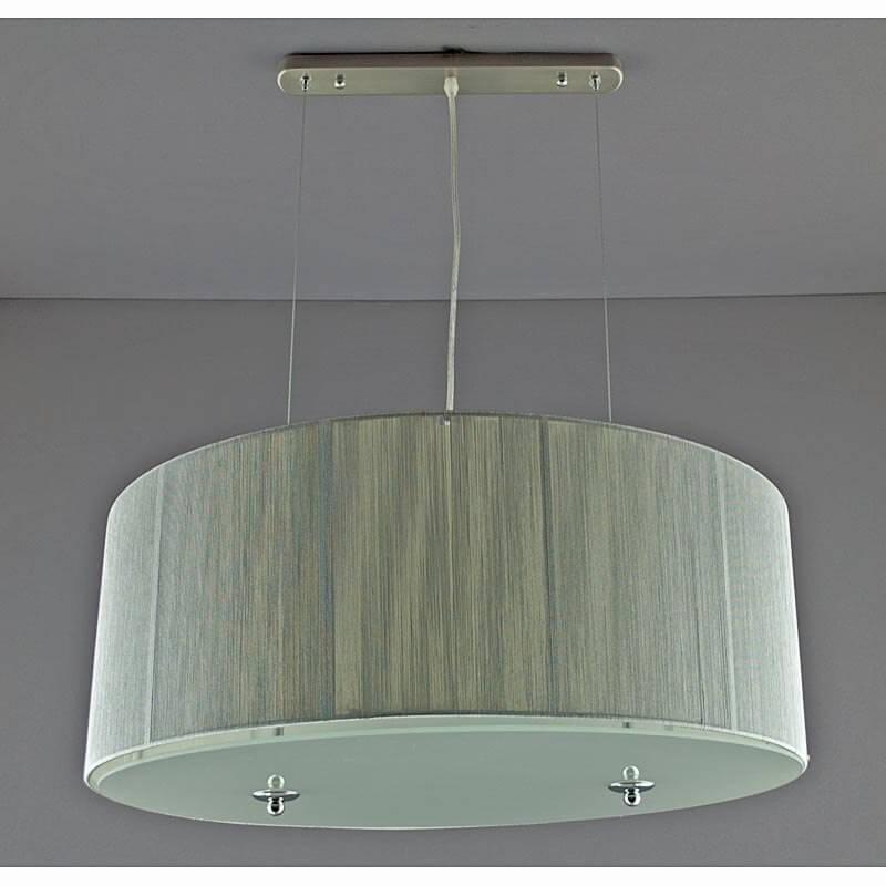 Люстра подвесная «Ариетта 4P» серебро SL-10293/4P SI WT