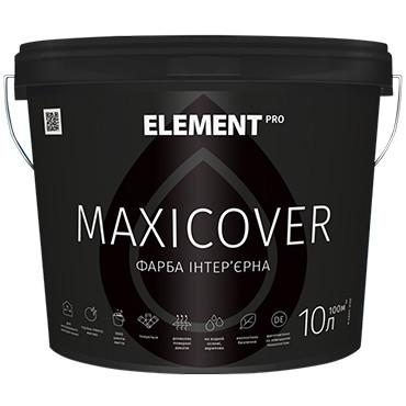 """Латексная краска ELEMENT PRO MAXICOVER - Латексная интерьерная высокопокрывная краска, белая, матовая 2.5л - Color-City """"Самые Низкие Цены на Стройматериалы""""  в Одессе"""