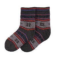 Теплые детские носки MIMIGOU 050- темно-серые
