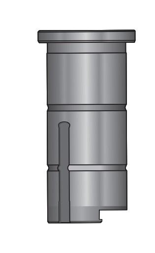 Направляющая открытого типа ABS, серия ТОР85, станция В.