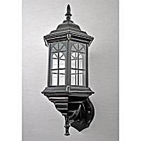 Светильник уличный настенный черный на одну лампу IP44 SV-10698/1W 6 B