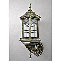 Светильник уличный настенный бронзовый на одну лампу IP44 SV-10698/1W 6 B/J