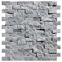 Мозаика талькомагнезит Рваный Камень 280/300/8-14 мм для бани и сауны