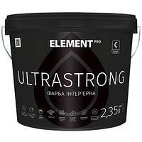 Интерьерная латексная краска Element Pro Ultrastrong - для стен и потолка