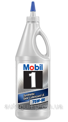 Mobil 1 Synthetic Gear Lubricant LS 75W90 (0,946 л.)