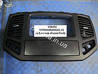 Накладка панели приборов средняя черная Geely MK-2 / MK Cross Джили МК-2 / МК Кросс 105800608300601-01