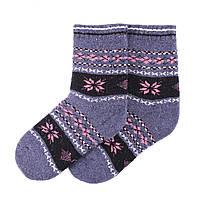 Теплые детские носки MIMIGOU 050- светло-серые