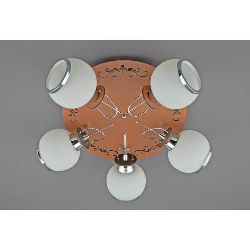 Люстра «Андромеда 5» SW-10508/5 MW+CR
