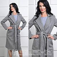 Красивое осеннее женское пальто ан-10683
