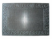 Коврик резиновый Welcome 42х60 см