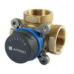 Клапан трехходовой поворотный смесительный ARV 384 Rp 1'' DN25 Kvs 12