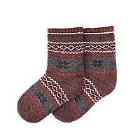 Теплые детские носки MIMIGOU 050-коричневые