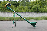 "Шнековый транспортер (погрузчик) ""EXPERT"" ТГ115/3/0,5 бункер-стандарт."