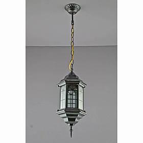Светильник уличный подвесной черный на одну лампу IP44 SV-10698/1P 6 B