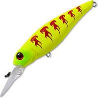 Воблер FISHYCAT TOMCAT 67SP-DR цвет X02 длина 67мм вес 6,7гр заглубление 1,5-2,0м взвешенный