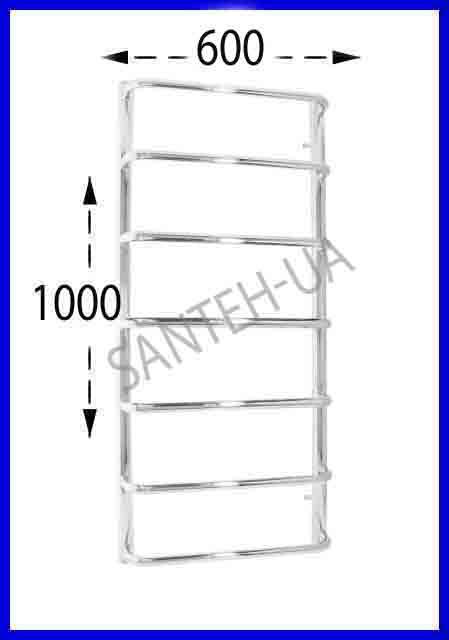 Полотенцесушитель Ravans Стінка 1000х600
