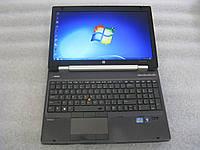 15,6' ноутбук HP EliteBook WorkStation 8560w i5-2520M 2.5G 4G 250G ATI M5950(1G) Full HD web-cam #798