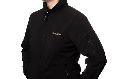 Куртка женская Ande Softshell Black S , фото 2