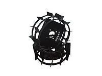 Грунтозацепы для мотоблока(железные колеса) ф 380/160 квадрат 10х10