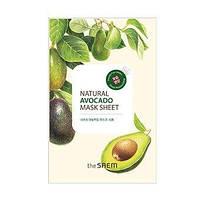 The Saem Natural Mask Sheet Avocado, тканевая маска 673
