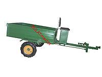 Прицеп для мотоблока(самосвал) с мотоблочными колесами