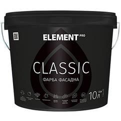 Матовая фасадная краска Element Pro Classic 10л