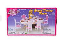 Игрушечная мебель для кукол gloria 2312 Столовая