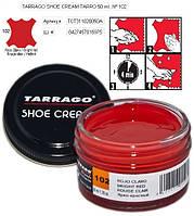 Крем для обуви Tarrago Shoe Cream 50ml 50 ml, 102 ЯРКО-КРАСНЫЙ, фото 1