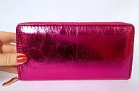 Женский кошелек на молнии, отделение для телефона