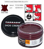 Крем для обуви Tarrago Shoe Cream 50ml 50 ml, 11 БОРДОВЫЙ, фото 1