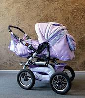 Коляска-трансформер Trans baby Prado, сиреневая