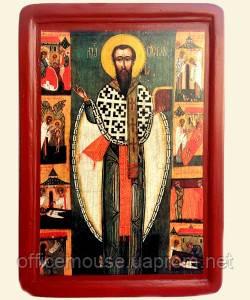 Икона Св.Василия,17х23